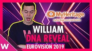 William's MyHeritage DNA results reveal video | Eurovision 2019