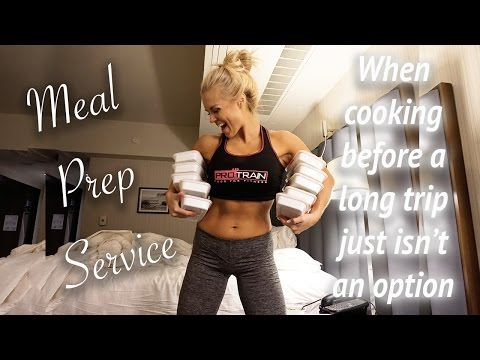 Healthy Meal Delivery & Boss Lady HunnyBuns | LA Vlog