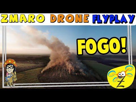 Flagra: Imagens Impressionantes Do Incêndio Em Canavial Em Ibaté, SP Com Zmaro Em DroneFlyPlay