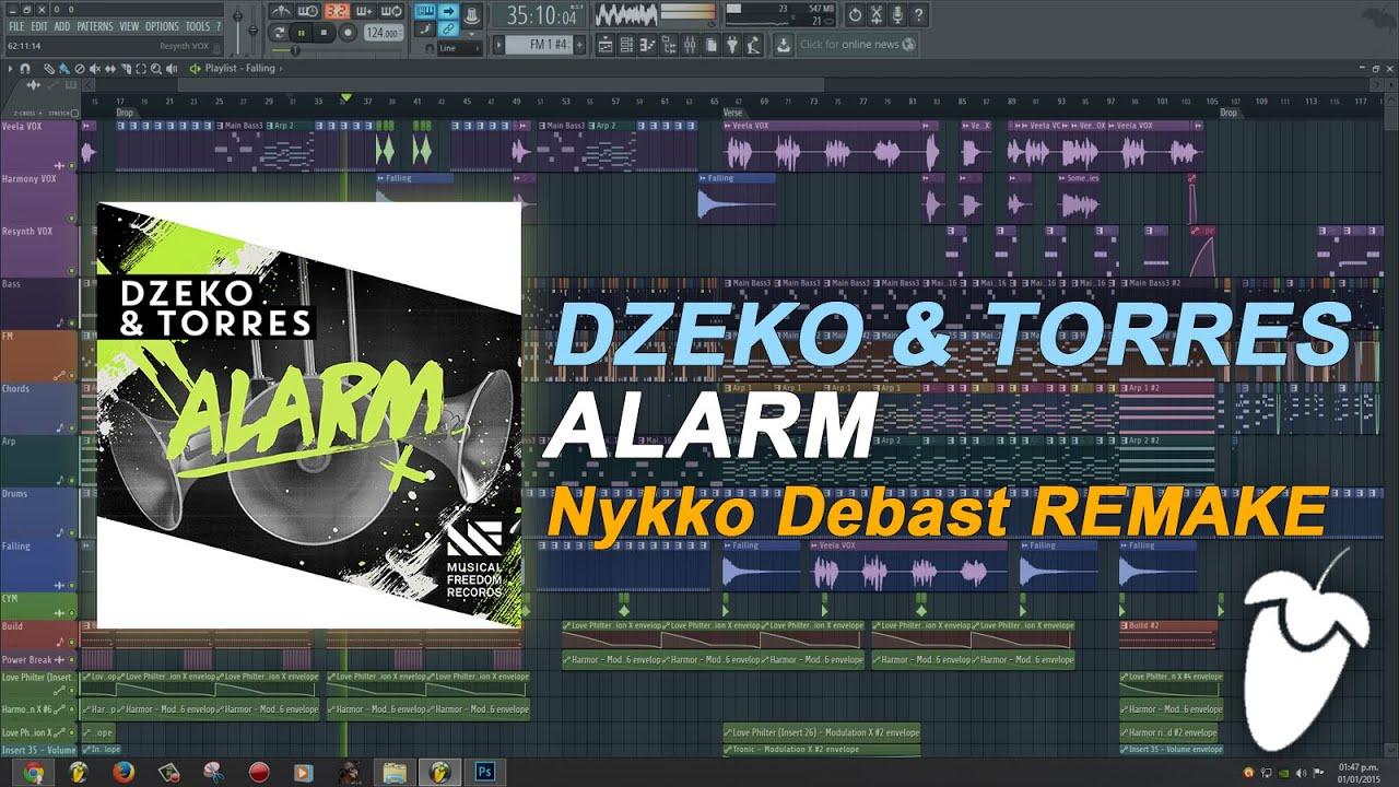 Dzeko & Torres - Alarm [FL Studio Remake + FREE FLP] - YouTube