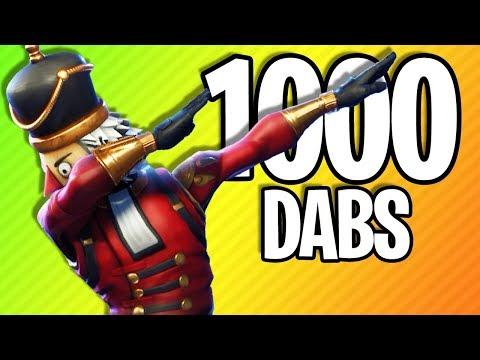 WHAT 1000 DABS IN FORTNITE LOOKS LIKE | Fortnite Battle Royale