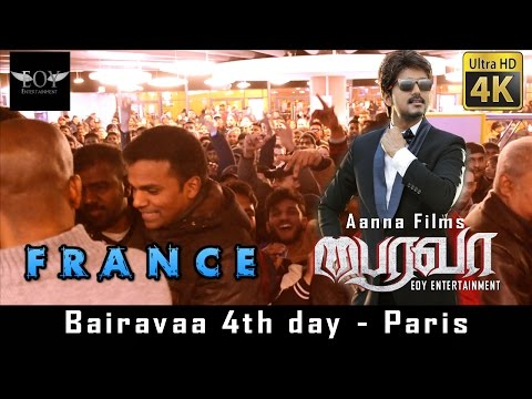Bairavaa France Public Opinion / Review | Exclusive 4K