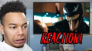 VENOM Trailer REACTION!