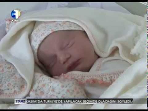 Kanal Fırat Haber - Hoşgeldin Eylül Nevra Bebek
