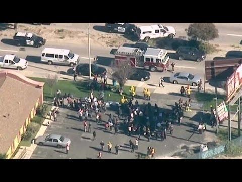 Source: 3 men left San Bernardino scene in black SUV