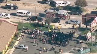 Source: 3 men left San Bernardino scene in black SUV