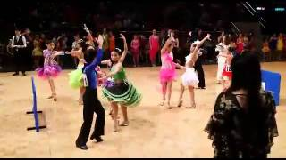 第22屆 IDTA杯(全球舞王挑戰賽) 心思舞蹈學員Paso Doble比賽 5/10/2014