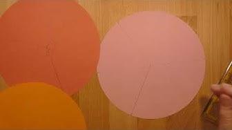 C3 Ich kann einen Kreis in drei oder sechs gleiche Teile falten