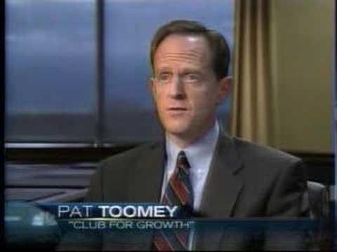 Pat Toomey on Huckabee's Economic Record