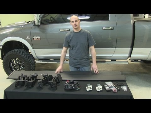 Installation of AMP Research Powerstep on 2012 Dodge Ram 3500