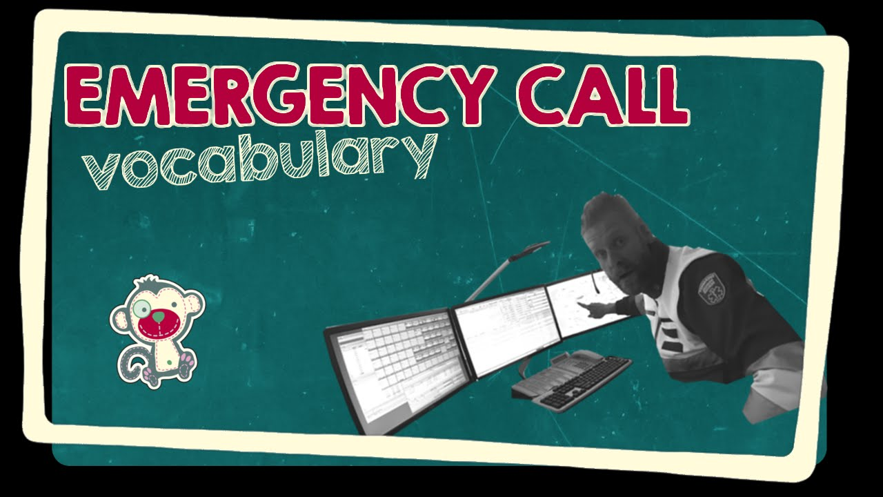 Emergency call - English vocabulary - YouTube