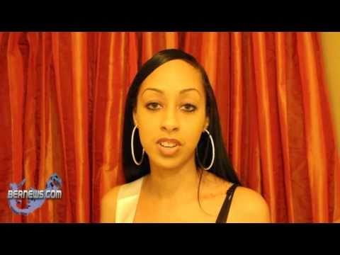 Davina Cannonier Miss Bermuda Contestant March 30th 2011