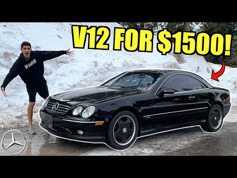 I Bought A $1500 Clean Title V12 Mercedes At Auction SIGHT UNSEEN!