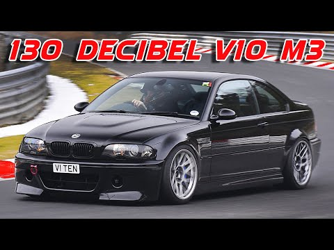 BMW E46 M3 with a V10 – Engine Swap Depot