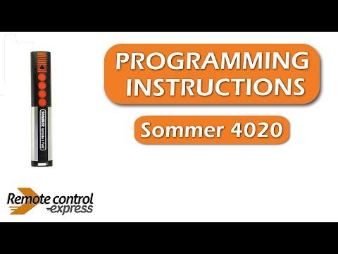 Programming My Remote Marantec D302 868 Doovi
