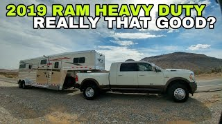 2019 RAM 3500 Heavy Duty. A Surprise Guest and the VP of RAM!