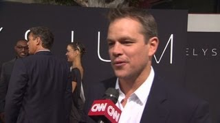Red Carpet Report: 'Paranoia' & 'Elysium'