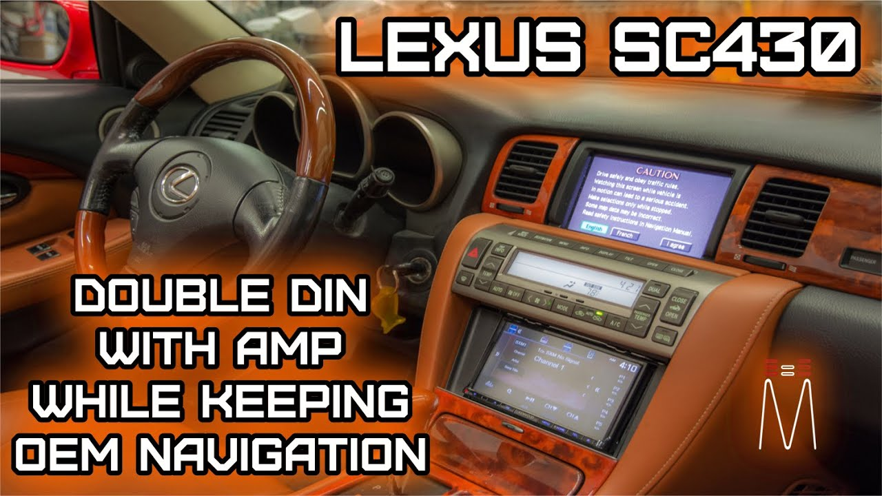 maxresdefault lexus sc430 double din nav radio and jl 6 channel amp install Lexus ES300 Wiring-Diagram at reclaimingppi.co
