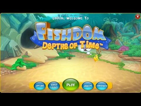 Fishdom 4: Depths of Time Standard / Collectors Edition Gameplay & Free Download