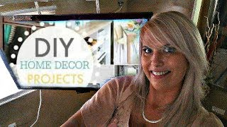 DIY Ceiling TV MOUNT Life Hack / Homemade Invention for Living Bedroom $10 Save Money Trending Style
