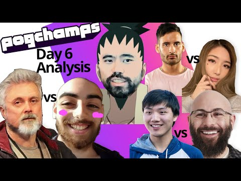 Hikamaru's PogChamps Day 6 Analysis | NymN Vs XChocobars | Forsen Vs ItsSliker | Boxbox Vs Swiftor