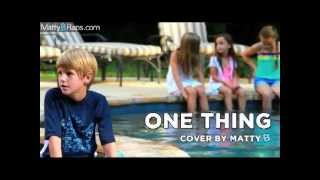 MattyB One Thing Cover/Remix (Lyrics Video)