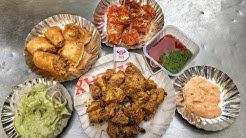 Street Food outside Fateh Nagar Gurdwara, New Delhi