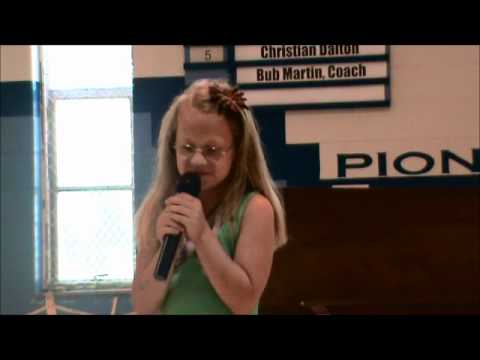 Alexis Wright Sings Miley Cyrus (The Climb) - May 13, 2011.wmv