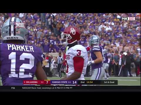 Oklahoma vs Kansas State Football Highlights