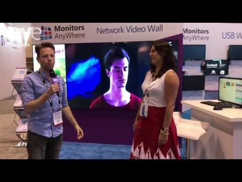 InfoComm 2017: Monitors Anywhere Unviels Thin Global Network Displays