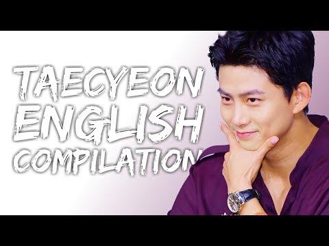 Taecyeon Speaking English Compilation   Part 2