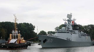 China, Russia conduct annual joint naval drills in Baltic Sea