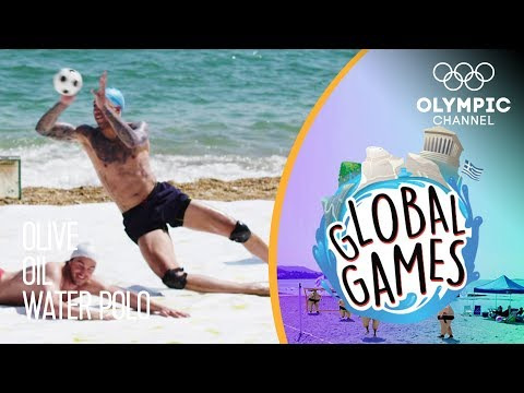 Olive Oil Water Polo - Olympians vs Influencers | The Global Games