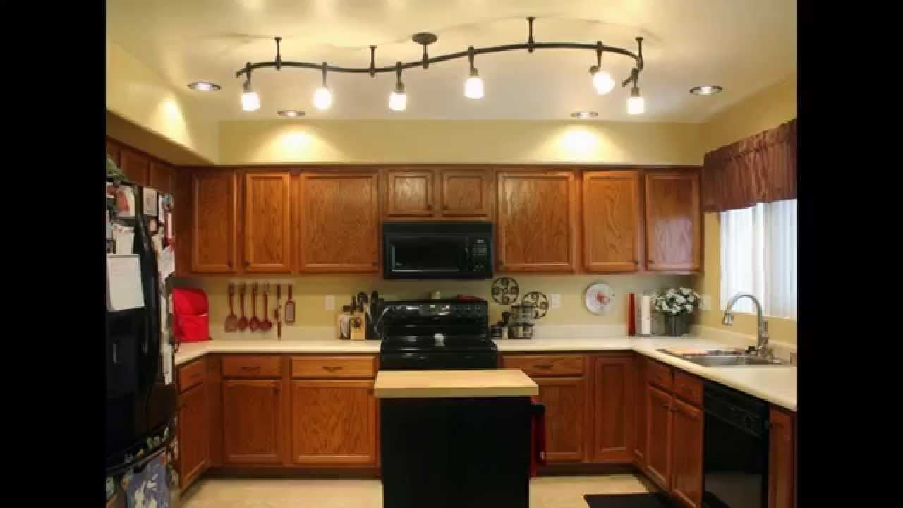 Kitchen Lighting Over Sink - YouTube