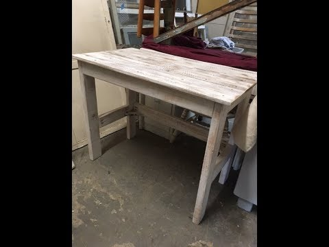 Diy 15 Rustic Wood Desk Project Easy And Fun Good For All Skill Levels