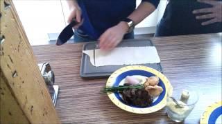 готовим с Венсаном: канеллони с лесными грибами, закуска