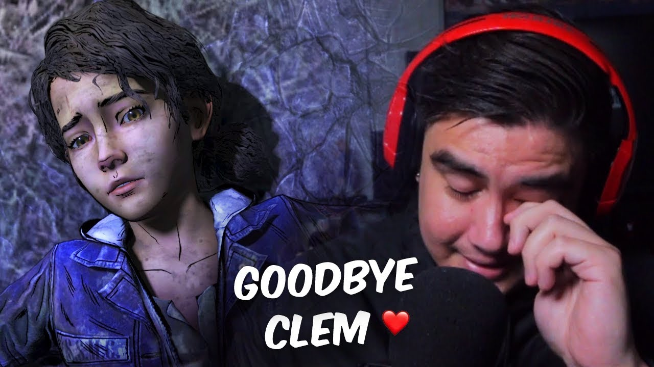 GROWN MAN TEARS FOR THIS FINAL EPISODE..GOODBYE CLEM | Walking Dead S4 (END)