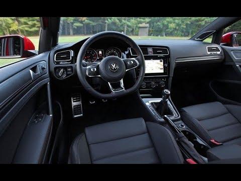 2018 Volkswagen Golf Interior Review Youtube