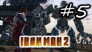 Iron Man 2 Gameplay Walkthrough Part 5 - Operation DayBreak