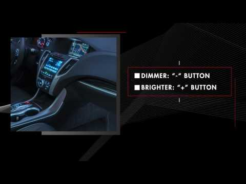 Acura - TLX - Ambient Accent Lighting