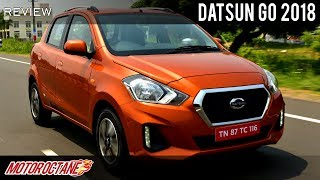 Datsun Go 2018 Review | Tiago Competition | Hindi | Motoroctane