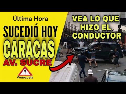 💥ÚLTIMA HORA: SUCEDIÓ en CARACAS Avenida Sucre  ATRO-PELLO de 6 PERSONAS 🔴NOTICIA DE VENEZUELA HOY