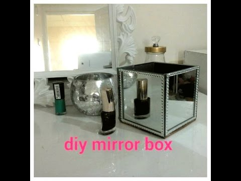 Mirror Box For Your Vanity Table Organise Your Dressing