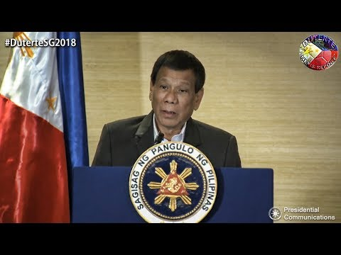 DUTERTE WITNESS THE SIGNING OF SEVERAL BUSINESS AGREEMENTS BETWEEN THE PHILIPPINES AND SINGAPORE