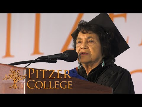 Dolores Huerta | 2018 Pitzer College Commencement Keynote | May 12, 2018