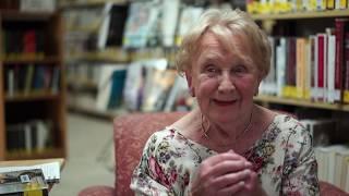 """Capsule vidéo """"La bibliothèque"""" de Saint-Adolphe d'Howard avec Monica Gratton"""