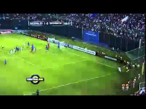 Copa Libertadores: Nacional Asunción venció a Defensor Sporting