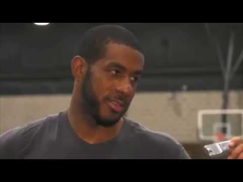 """Lamarcus Aldridge Works Out With Tim Duncan and Says """"He Gets On My Nerves, He Talks Too Much"""""""