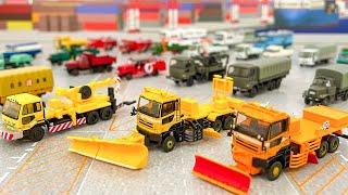 トラックコレクション第8弾!除雪車、自衛隊トラック、いすゞ ボンネットトラックなどをラインナップ!