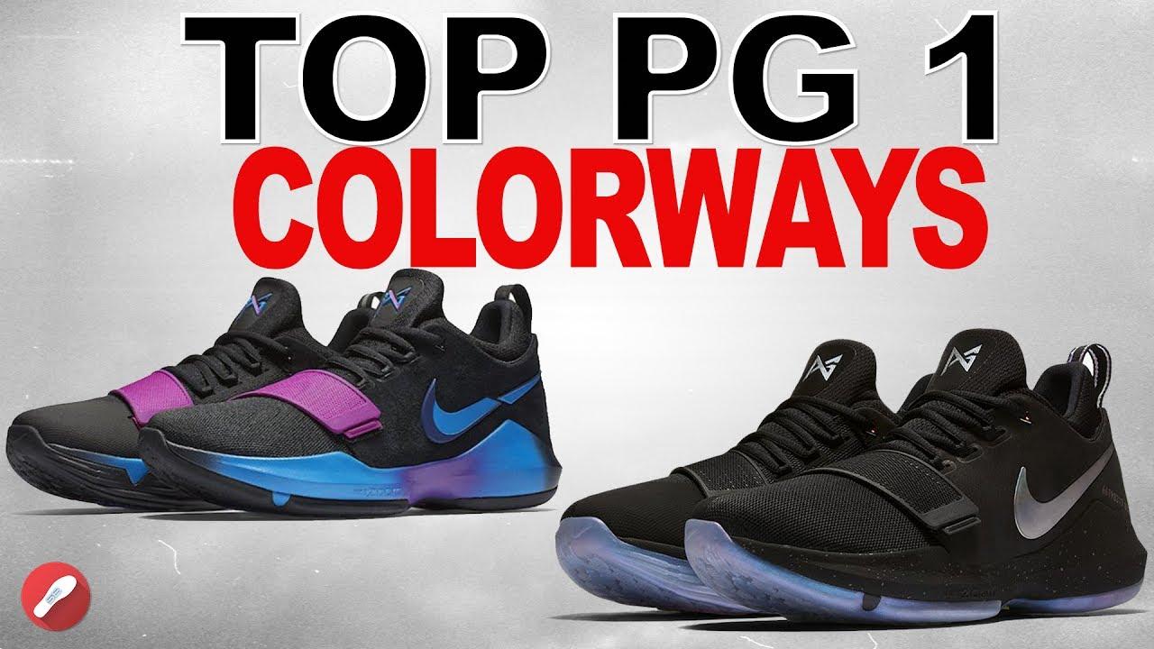 041cd9012c51 Top Nike Pg 1 Colorways! - YouTube